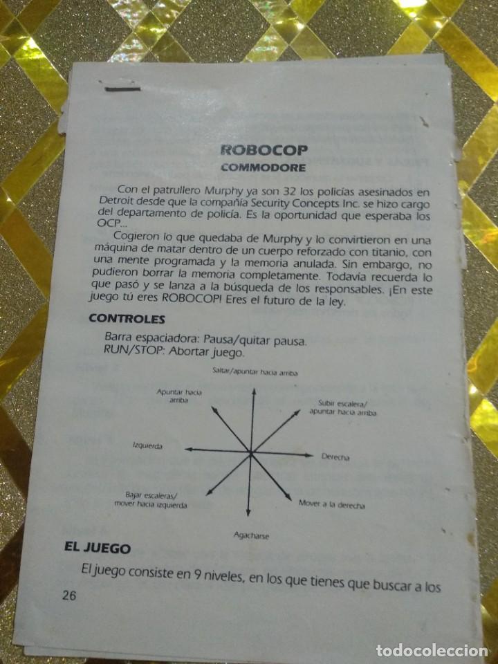COMMODORE 64 INSTRUCCIONES ANTIGUAS * (Juguetes - Videojuegos y Consolas - Commodore)