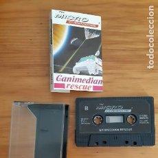 Jeux Vidéo et Consoles: COMMODORE 64. JUEGOS - CASETE / CASSETTE. GANIMEDIAN RESCUE. Lote 287876343