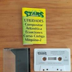 Jeux Vidéo et Consoles: COMMODORE 64. JUEGOS - CASETE / CASSETTE. STARS COMMODORE. Lote 287876418