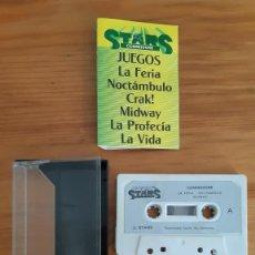 Jeux Vidéo et Consoles: COMMODORE 64. JUEGOS - CASETE / CASSETTE. STARS COMMODORE. Lote 287876478