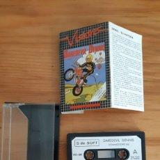Jeux Vidéo et Consoles: COMMODORE 64. JUEGOS - CASETE / CASSETTE. DAREDEVIL DENNIS. Lote 287877038