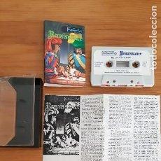 Jeux Vidéo et Consoles: COMMODORE 64. JUEGOS - CASETE / CASSETTE. RENAISSANCE. Lote 287878178