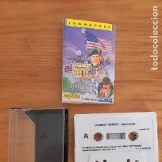 Jeux Vidéo et Consoles: COMMODORE 64. JUEGOS - CASETE / CASSETTE. COMBAT SCHOOL. Lote 287878868