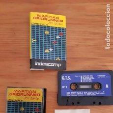 Videogiochi e Consoli: COMMODORE 64. JUEGOS - CASETE / CASSETTE. MARTIAN GRIDRUNNER. Lote 287878963