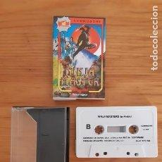 Jeux Vidéo et Consoles: COMMODORE 64. JUEGOS - CASETE / CASSETTE. NINJA MASTER. Lote 287879013