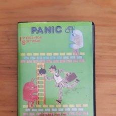 Jeux Vidéo et Consoles: COMMODORE 64. JUEGOS - CASETE / CASSETTE. PANIC 64 INTERCEPTOR SOFTWARE (CON MANUAL). Lote 287879553