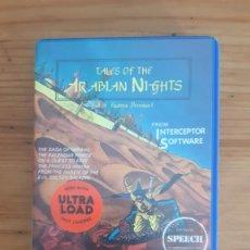 Jeux Vidéo et Consoles: COMMODORE 64. JUEGOS - CASETE / CASSETTE. TALES OF THE ARABIAN NIGHTS (CON MANUAL). Lote 287879663