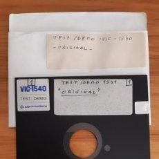 Jeux Vidéo et Consoles: COMMODORE. FLEXY DISK - ORIGINAL VIC-1540 DEMO. Lote 287880508
