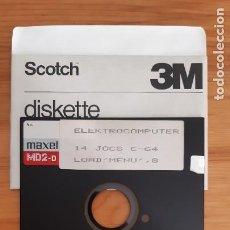 Jeux Vidéo et Consoles: FLEXY DISK - ORIGINAL. ?JUEGOS ? - ELEKTROCOMPUTER 14 JOCS C-64. Lote 287880853