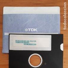 "Jeux Vidéo et Consoles: FLEXY DISK - ORIGINAL. COMMODORE 64 - PROCESADOR DE TEXTOS ""EASY SCRIPT"". Lote 287881378"