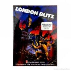 Videojuegos y Consolas: LONDON BLITZ * PRECINTADO MICROCOMPUTER AVALON HILL GAME COMMODORE 64 128 C64 CASSETTE NUEVO CAJA XL. Lote 288116488