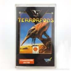 Videojuegos y Consolas: TERRORPODS / DRO SOFT ESPAÑA / PSYGNOSIS / MELBOURNE HOUSE 1988 / CBM COMMODORE 64 128 C64 CASSETTE. Lote 288121718