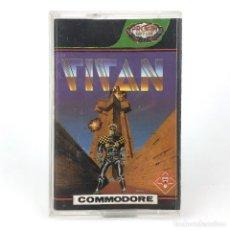 Videojuegos y Consolas: TITAN PROEIN SOFT LINE ESPAÑA TITUS SOFTWARE 1989 ESTILO ARKANOID CBM COMMODORE 64 128 C64 CASSETTE. Lote 288121813