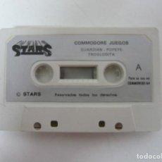 Videojuegos y Consolas: STARS COMMODORE - SOLO CINTA / COMMODORE 64 - C64 / RETRO VINTAGE / CASSETTE - CINTA. Lote 288367828