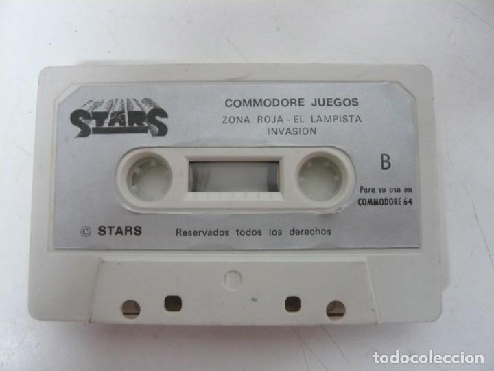Videojuegos y Consolas: Stars Commodore - Solo cinta / Commodore 64 - C64 / Retro Vintage / Cassette - Cinta - Foto 2 - 288367828