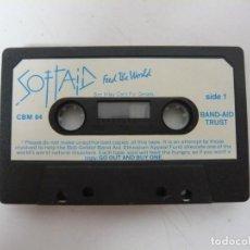 Videojuegos y Consolas: SOFTAID - SOLO CINTA / COMMODORE 64 - C64 / RETRO VINTAGE / CASSETTE - CINTA. Lote 288367868