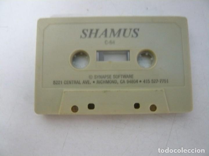 SHAMUS - SOLO CINTA / COMMODORE 64 - C64 / RETRO VINTAGE / CASSETTE - CINTA (Juguetes - Videojuegos y Consolas - Commodore)