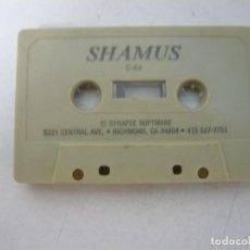 Videojuegos y Consolas: SHAMUS - SOLO CINTA / COMMODORE 64 - C64 / RETRO VINTAGE / CASSETTE - CINTA. Lote 288367933