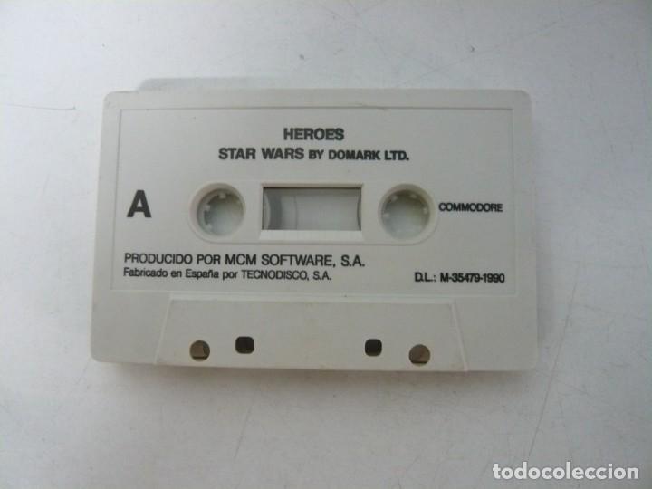 STAR WARS + LICENCE TO KILL - SOLO CINTA / COMMODORE 64 - C64 / RETRO VINTAGE / CASSETTE - CINTA (Juguetes - Videojuegos y Consolas - Commodore)