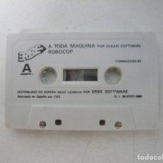 Videojuegos y Consolas: RAMBO III + ROBOCOP - SOLO CINTA / COMMODORE 64 - C64 / RETRO VINTAGE / CASSETTE - CINTA. Lote 288368058
