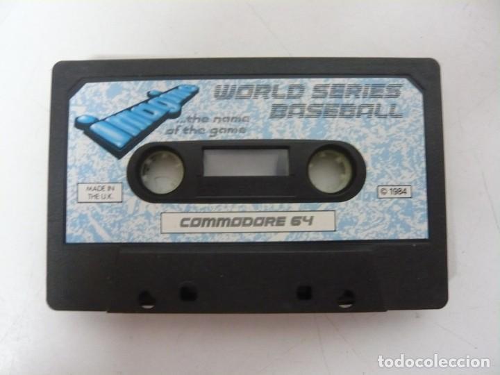 WORLD SERIES BASEBALL - SOLO CINTA / COMMODORE 64 - C64 / RETRO VINTAGE / CASSETTE - CINTA (Juguetes - Videojuegos y Consolas - Commodore)