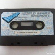 Videojuegos y Consolas: WORLD SERIES BASEBALL - SOLO CINTA / COMMODORE 64 - C64 / RETRO VINTAGE / CASSETTE - CINTA. Lote 288368118