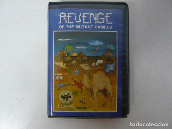 REVENGE OF THE MUTANT CAMELS / COMMODORE 64 - C64 / RETRO VINTAGE / CASSETTE - CINTA (Juguetes - Videojuegos y Consolas - Commodore)