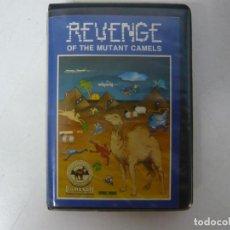 Videojuegos y Consolas: REVENGE OF THE MUTANT CAMELS / COMMODORE 64 - C64 / RETRO VINTAGE / CASSETTE - CINTA. Lote 288368758