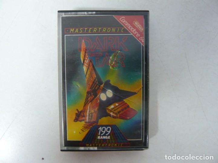 DARK STAR / COMMODORE 64 - C64 / RETRO VINTAGE / CASSETTE - CINTA (Juguetes - Videojuegos y Consolas - Commodore)