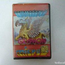 Videojuegos y Consolas: GRYPHON / COMMODORE 64 - C64 / RETRO VINTAGE / CASSETTE - CINTA. Lote 288369738