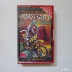 Videojuegos y Consolas: KIKSTART / COMMODORE 64 - C64 / RETRO VINTAGE / CASSETTE - CINTA. Lote 288370098
