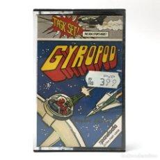 Videojuegos y Consolas: GYROPOD / TASKSET LTD PAVLODA 1984 ARCADE SHOOTER SCI-FI FUTURISTA CBM COMMODORE 64 128 C64 CASSETTE. Lote 288587038