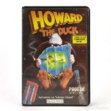 Videojuegos y Consolas: HOWARD UN NUEVO HEROE THE DUCK ADVENTURE ESTUCHE PROEIN ACTIVISION CBM COMMODORE 64 128 C64 CASSETTE. Lote 288587068
