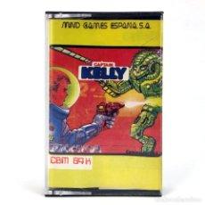 Videojuegos y Consolas: CAPTAIN KELLY MIND GAMES ESPAÑA QUICKSILVA 1986 SCI-FI FUTURISTA CBM COMMODORE 64 128 C64 CASSETTE. Lote 288587108