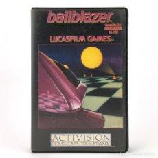 Videojuegos y Consolas: BALLBLAZER ESTUCHE LUCASFILM GAMES K-BYTES ACTIVISION DEPORTE VINTAGE COMMODORE 64 128 C64 CASSETTE. Lote 293959108
