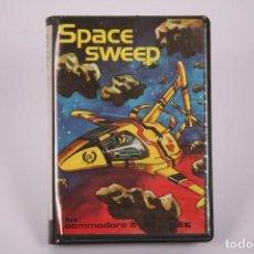 Videojuegos y Consolas: VIDEOJUEGO RETRO CASETE COMMODORE - SPACE SWEEP - MICRO. Y CONTROL SA YEC - CASSETTE. Lote 294165158