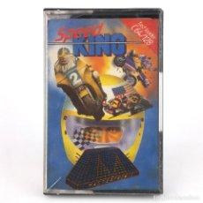 Videojuegos y Consolas: SPEED KING DRO SOFT ESPAÑA 1987 MOTOCICLISMO CARRERA DE MOTOS RACE CBM COMMODORE 64 128 C64 CASSETTE. Lote 295562908