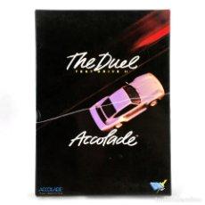 Videojuegos y Consolas: TEST DRIVE II THE DUEL DRO SOFT ACCOLADE PORSCHE RACING CARS COCHE CBM COMMODORE 64 128 C64 CASSETTE. Lote 295563083
