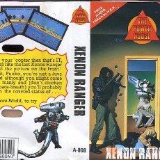 Videojuegos y Consolas: JUEGO COMMODORE - XENON RANGER - 1987. Lote 24450347