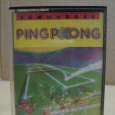 Videojuegos y Consolas: VIDEO JUEGO CASETTE MSX PING PONG 1986. Lote 24469901