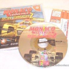 Videojuegos y Consolas: SEGA DREAMCAST MONACO GRAND PRIX 2 JAP 2001 ALUCINANTE. Lote 11557746