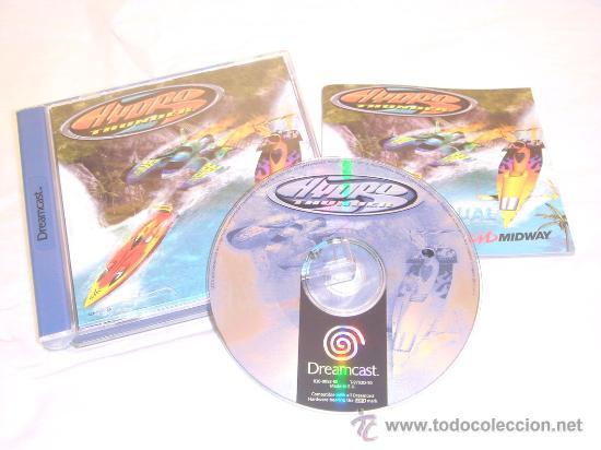 SEGA DREAMCAST HYDRO THUNDER LANCHAS DE CARRERAS 1999 ! (Juguetes - Videojuegos y Consolas - Sega - DreamCast)
