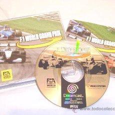Videojuegos y Consolas: SEGA DREAMCAST F1 WORLD GRAND PRIX 1 CARRERAS 1999 !!!. Lote 11557753