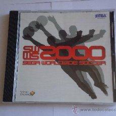 Videojuegos y Consolas: VIDEO JUEGO ORIGINAL DREAMCAST. SEGA WORLDWIDE SOCCER 2000. SIN LIBRO DE INSTRUCCIONES. Lote 27482337