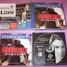 Videojuegos y Consolas: RESIDENT EVIL 3 NEMESIS COMPLETO PAL ESPAÑA SEGA DREAMCAST. Lote 26267290