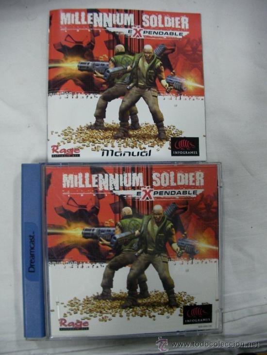 ANTIGUO JUEGO DREAMCAST MILLENNIUM SOLDIER - EXPENDABLE (Juguetes - Videojuegos y Consolas - Sega - DreamCast)