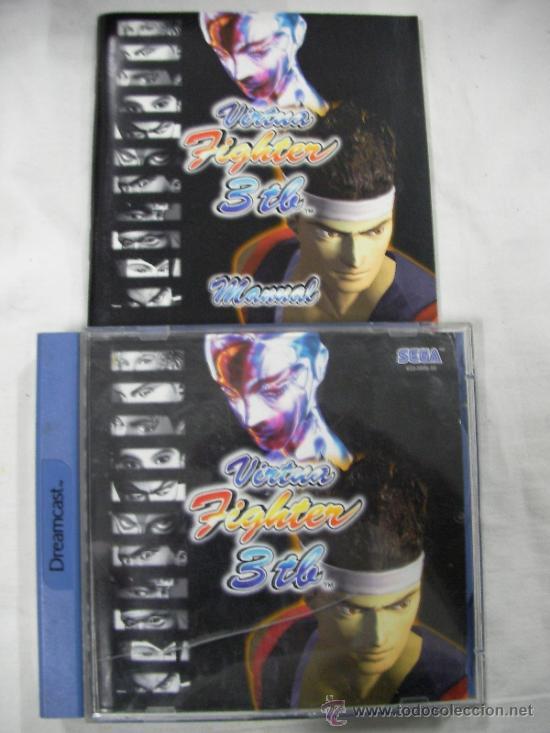 ANTIGUO JUEGO DREAMCAST VIRTUA FIGHTER 3 TB (Juguetes - Videojuegos y Consolas - Sega - DreamCast)