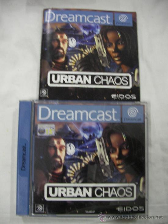 ANTIGUO JUEGO DREAMCAST URBAN CHAOS (Juguetes - Videojuegos y Consolas - Sega - DreamCast)