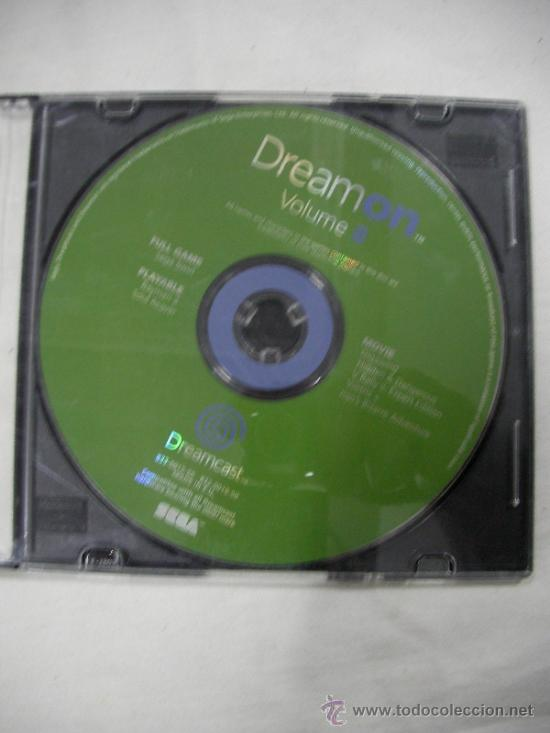 ANTIGUO DISCO DREAMCAST DREAMON VOL.8 - ENVIO GRATIS A ESPAÑA (Juguetes - Videojuegos y Consolas - Sega - DreamCast)