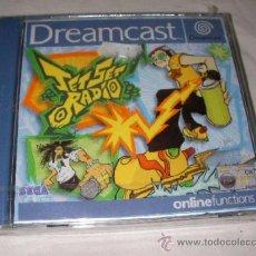 Videojuegos y Consolas: ANTIGUO JUEGO DREAMCAST JET SET RADIO. Lote 36844297